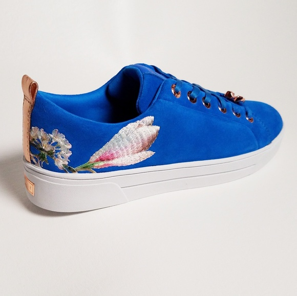 Shoes | Ted Baker Blue Sneakers | Poshmark